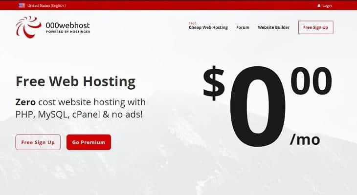 Best Alternatives to 000webhost