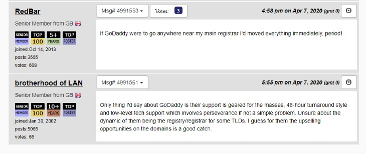 Response to Godaddy-Neustar deal