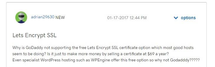 Lets Encrypt SSL