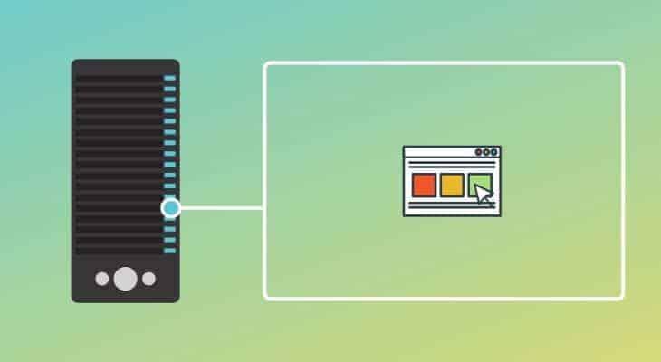 Types of web hosting - dedicated server hosting