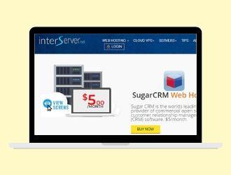 Interserver CRM Hosting