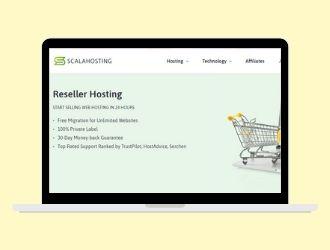 ScalaHosting reseller hosting