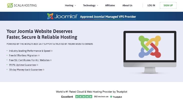 ScalaHosting Is Now a Platinum Sponsor of Joomla