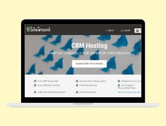 SiteGround CRM Hosting