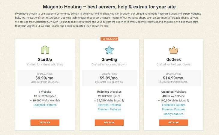SiteGround - Magento hosting for eCommerce