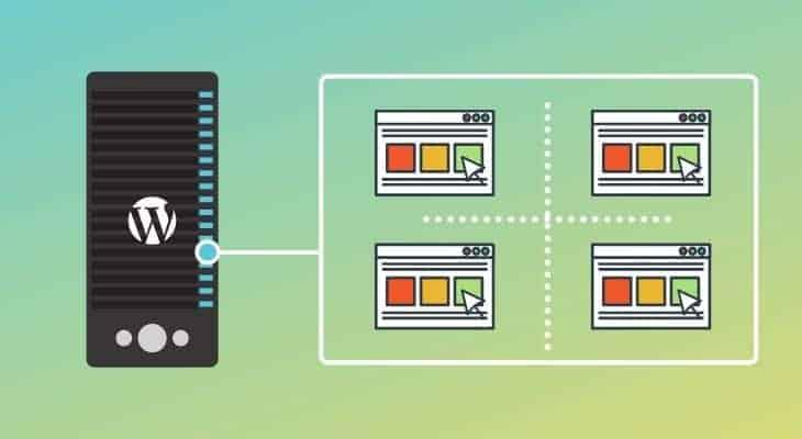 Types of web hosting - WordPress hosting