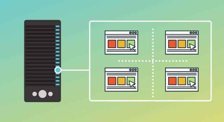 Types of web hosting - VPS hosting